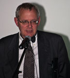 Thom Palmen στην τελετή επηβραβεύσεων του Cluj κωμωδίας Στοκ Εικόνα