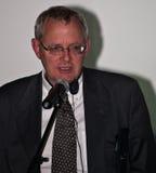 Thom Palmen alla cerimonia di premi di Cluj di commedia Immagine Stock