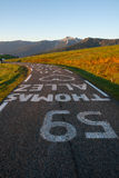 Thomas Allez 59 Ronde van Frankrijk Royalty-vrije Stock Foto's