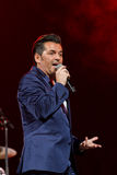 Thomas Anders sings Stock Photography