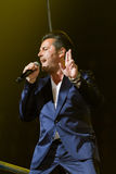Thomas Anders sings Royalty Free Stock Photography