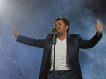Thomas Anders sings Stock Photo