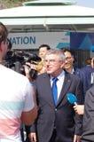 Thomas Bach, prezydent IOC zdjęcie stock