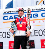 Thomas Bergamelli World Champion 2011 Royalty Free Stock Photos