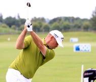 Thomas Bjorn au golf français ouvrent 2013 Photo stock