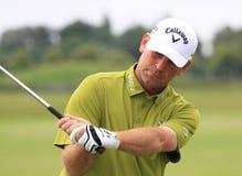 Thomas Bjorn au golf français ouvrent 2013 Images libres de droits