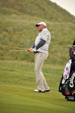 Thomas Bjorn British Open Sandwich 2011 Royalty Free Stock Images