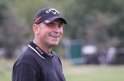 Thomas Bjorn, Vivendi golf cup, sept 2010. JOYENVAL GOLF COURSE, FRANCE - SEPTEMBER 24 Royalty Free Stock Photos