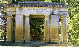 Thomas Burke Crypt Stock Photography