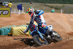 Thomas Chareyre at SuperMoto World Championship Stock Image