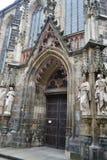 Thomas Church en Leipzig Fotos de archivo libres de regalías