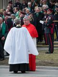 Thomas Collins at Jim Flaherty State Funeral in To Royalty Free Stock Photography