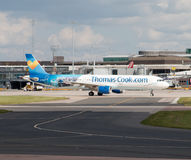 Thomas Cook 757 Photographie stock