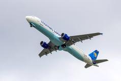 Thomas Cook Aerobus A321D-AVZM Obrazy Stock