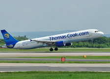 Thomas Cook Airbus A320 Stock Image
