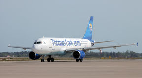 Thomas Cook Airlines Royalty Free Stock Photography