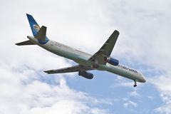 Thomas Cook Boeing 757 Royalty Free Stock Photography