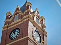 Free Thomas County Courthouse Colby Kansas Clock Royalty Free Stock Photos - 153042918