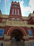 Thomas County Courthouse Colby Kansas Clock Tower royalty free stock images