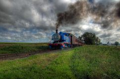 Thomas die Becken-Motor-Serie Stockfotos