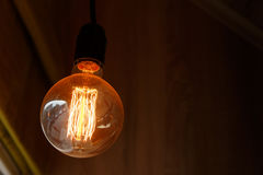 Thomas Edison Bulb Royalty Free Stock Images