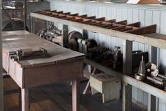 Thomas Edison National Historical Park bevarar Thomas Edison laboratorium arkivfoto