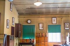 Thomas Edison National Historical Park bevarar Thomas Edison laboratorium arkivbilder