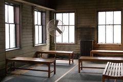 Thomas Edison National Historical Park bevarar Thomas Edison laboratorium royaltyfri bild