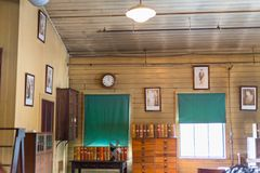 Thomas Edison National Historical Park-het laboratorium van domeinenthomas edison stock afbeeldingen