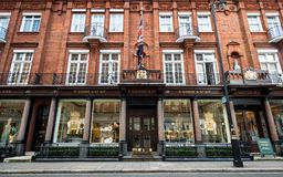 Thomas Goode e Co ltd , Mayfair, Londres Fotografia de Stock