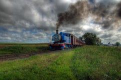 Thomas il treno del motore di serbatoio Fotografie Stock