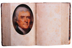 Thomas Jefferson - 3-rd President Royalty Free Stock Photo