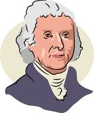 Thomas Jefferson Royalty Free Stock Photography