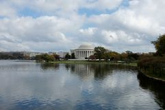 Thomas Jefferson Memorial stock image