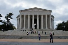 Thomas Jefferson Memorial Stock Photography