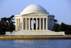 Thomas Jefferson Memorial Royalty-vrije Stock Afbeelding