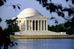 Thomas Jefferson Memorial Royalty-vrije Stock Afbeeldingen