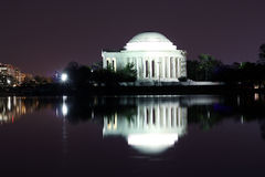 Thomas Jefferson Memorial Imagem de Stock