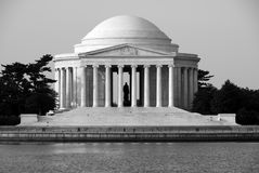 Thomas jefferson memorial Fotografia Royalty Free