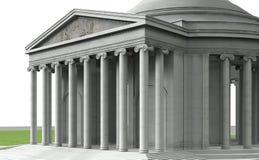 Thomas, Jefferson, Memorial Stock Photo
