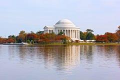 Thomas Jefferson Memorial in autumn, Washington DC. Stock Images