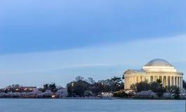 Thomas Jefferson Memorial building Stock Photos