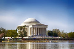Thomas Jefferson Memorial Building Stock Image