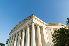 The Thomas Jefferson Memorial. In DC Stock Photography