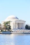 Thomas Jefferson Memorial durante Cherry Blossom Festival en spri Imagen de archivo libre de regalías