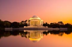 Thomas Jefferson Memorial en el Washington DC, los E.E.U.U. Imagenes de archivo