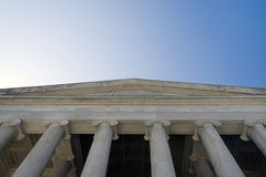 Thomas Jefferson Memorial Entrance Stock Images