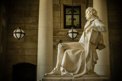 Thomas Jefferson Memorial i St Louis. Arkivbild