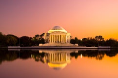 Thomas Jefferson Memorial im Washington DC, USA Stockbilder