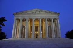 Thomas Jefferson Memorial at night. Washington DC, USA Royalty Free Stock Image